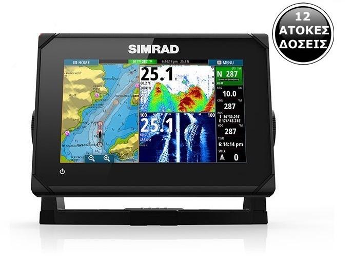 Simrad go7 for Simrad fish finder