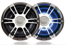 "SG-CL77SPC  7.7"" 280 Watt Coaxial Sports Chrome Marine Speaker with LEDs"