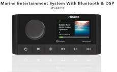 Fusion MS-RA210 Marine Am/FM/iPhone/iPod/Android interface, built-in high level Bluetooth, rear USB connection(4Χ50Watt)