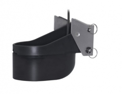 XSONIC TM260 Plastic transom-mount. 50/200Khz with diplexer. Depth/temp. 50Khz @ 19 deg; 200Khz @ 6 deg